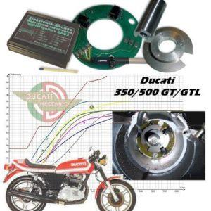 Allumage ZdG Ducati 350/500 GT/GTL