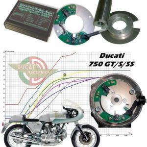 Allumage ZdG Ducati 750GT/S/SS