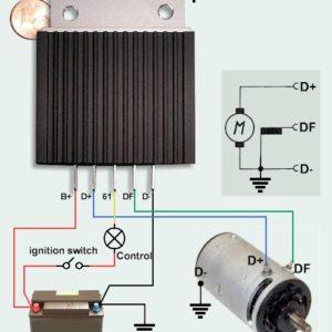 Régulateur T5 Sachse pour dynamo connectée au D-
