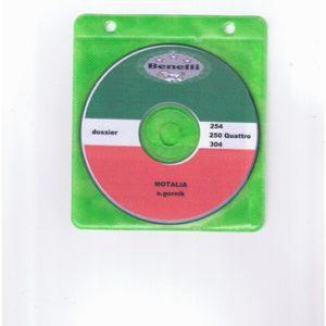 Dossier Benelli 254 sur CD