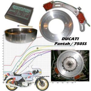 Allumage ZdG  Ducati  distribution à courroie