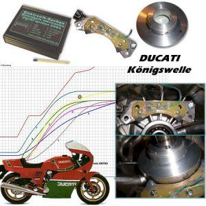 Allumage SACHSE Ducati 860/900SS à couple conique/Module en remplacement du système Bosch d'origine