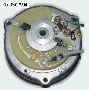 Allumage ZdG Yamaha 350 RD