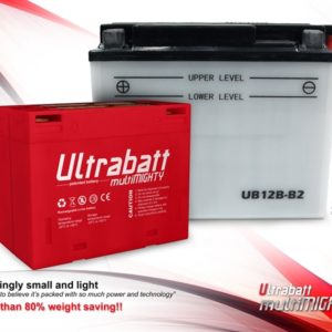 Batterie ULTRABATT Lithium Ion 6  ou 12 Volts