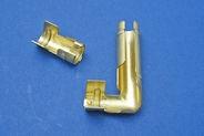 Cosse coudée 90° pour fil bougie & Bobine HT cylindrique