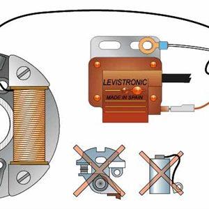Kit Rupteurs électroniques & Bobine HT M16