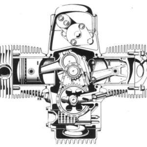 Allumage ZdG 3.23 BMW série R,  R45 à R100 sur Arbre à Cames